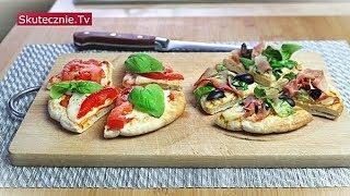 Mini pizze. Szybki obiad lub kolacja w 15 minut :: Skutecznie.Tv