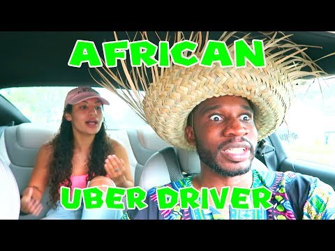 THE AFRICAN UBER DRIVER 😂😂😂