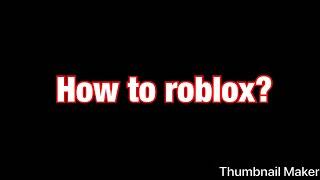 How Too Roblox (Meme Edit)