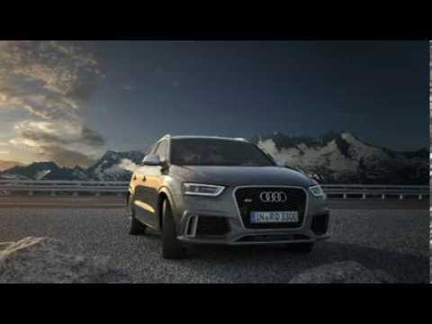 Audi RS Q3 quattro Permanent All-Wheel Drive System Animation