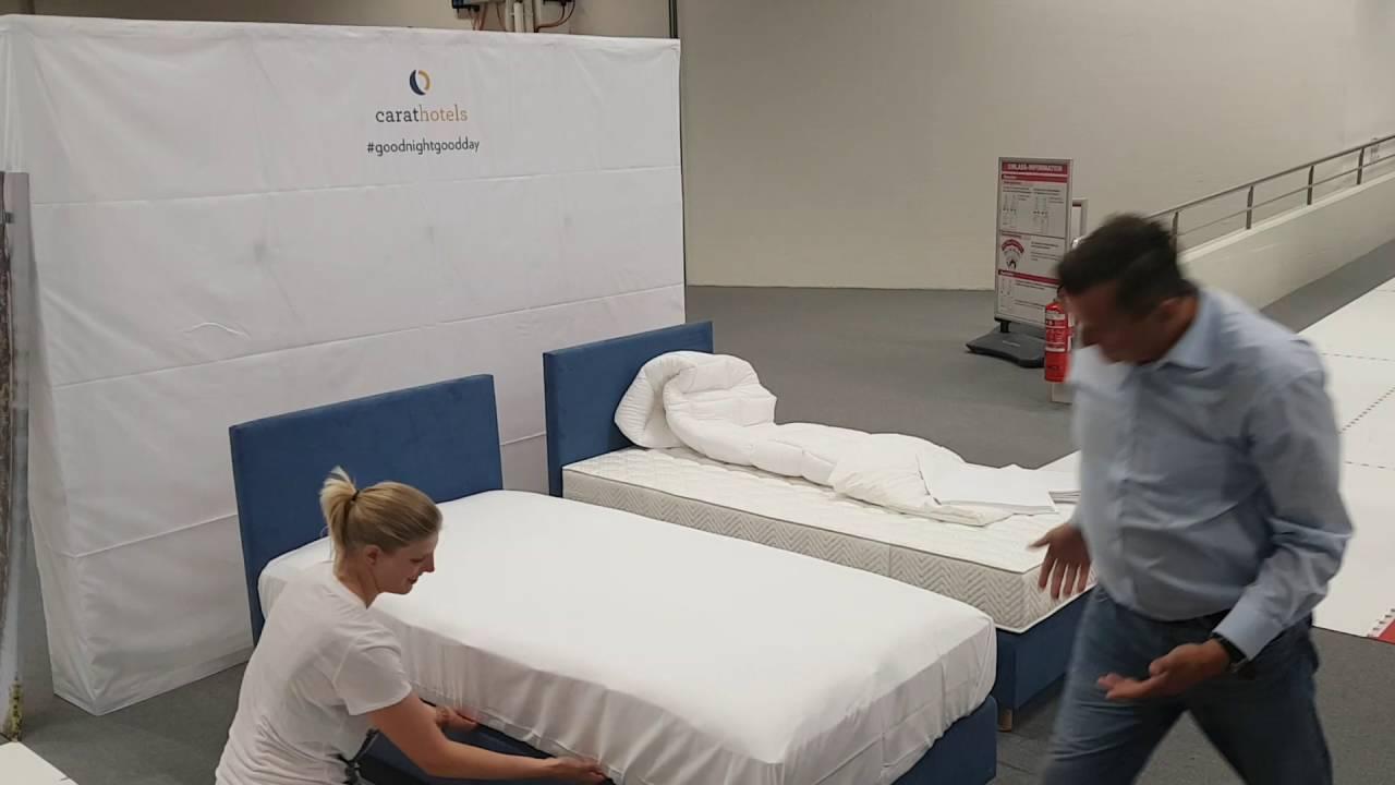 Betten Machen Dekorativ betten machen die profis am werk