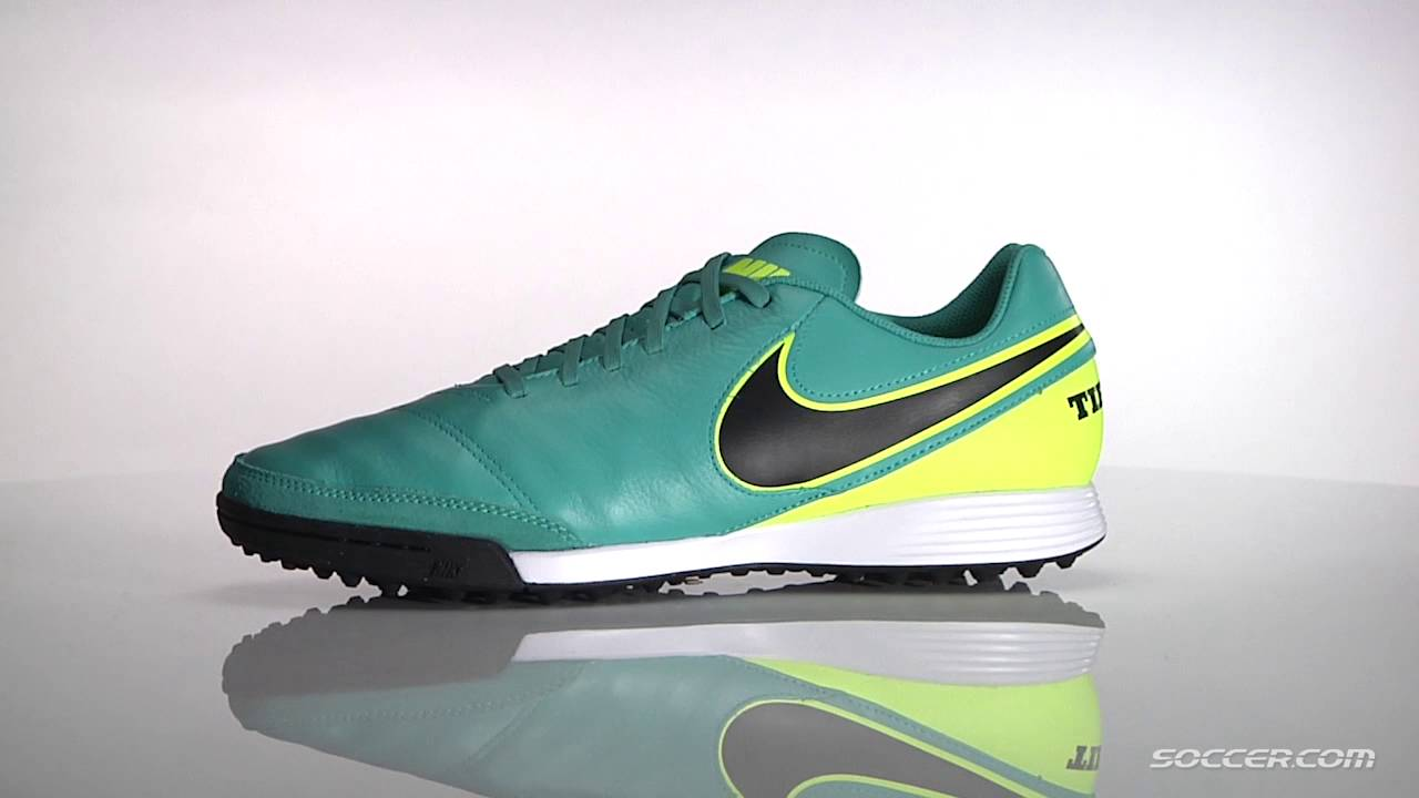 246baa0d26 Nike Tiempo Genio II Leather TF - YouTube