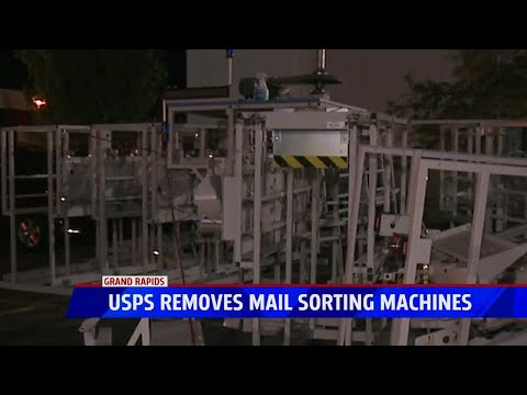 Mail Sorting Machines Removed At USPS