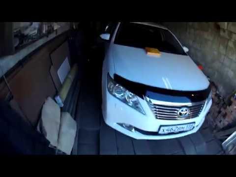 Замена салонного фильтра и чистка кондиционера Toyota Camry