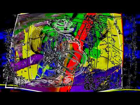 Abstract Rhythm in Time DigitalART  by Alan Silva  Improvising Light Being 28