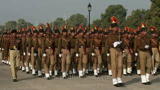 Band of Brothers - Indian Army musical band parades on Republic day