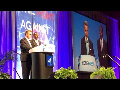AAKP President Paul T. Conway & VP Richard Knight receive ASN President's Medal