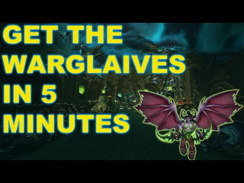 Warglaives Of Azzinoth In 5 Minutes! Black Temple Skip Trick!