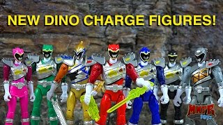 NEW Dino Charge Dino Drive Figures! Gold & Graphite Ranger!