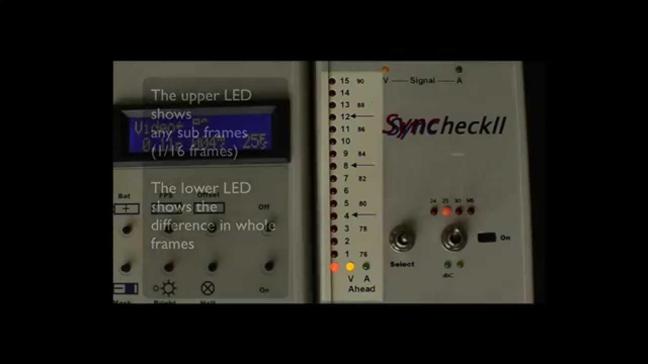 Pro Tools HD Sync Test - Avid Mojo Vs Desktop Video in Pro tools 10 3 9