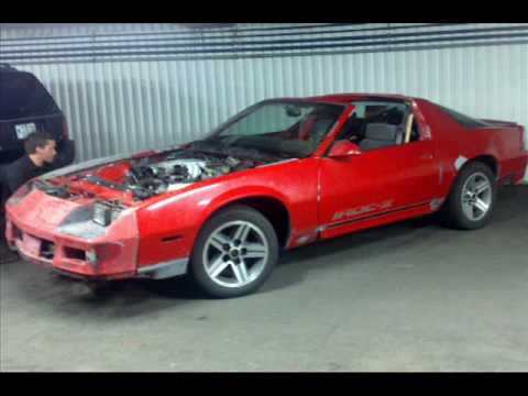 My 86 Camaro Iroc Z Project Sold Youtube