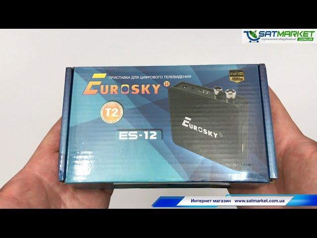 Видео обзор Eurosky ES-12