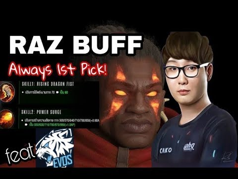 RAZ Buff. ROAD to BEST RAZ Number1! ! ft: EVOS