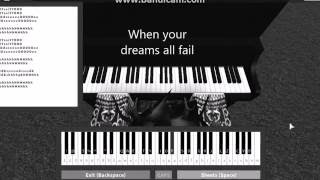 Roblox: Virtual Piano! Demons~ Imagine Dragons.