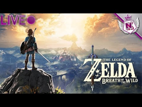 Zelda Breath of the Wilds Livestream