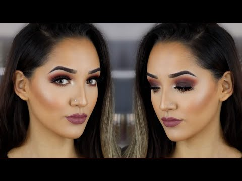 Matte Smoky Fall Glam | Dark Fall Makeup thumbnail