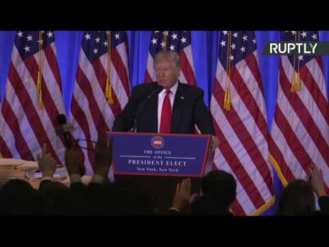 Trump holds first press conference since winning US Presidential election (FULL)