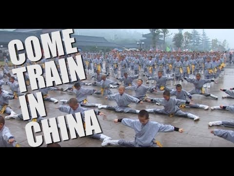TRAIN IN CHINA WITH MARTIAL CLUB - SHAOLIN LEGENDS CAMP