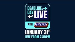 Deadline Day Live 2020 | #OnYourGame