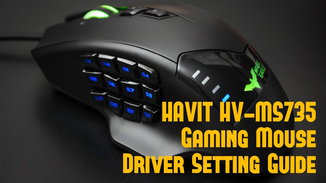 V Mouse Guide HAVIT HV-MS735 Gaming ...