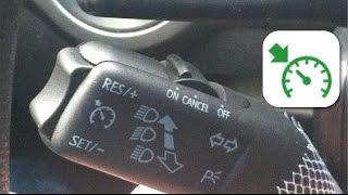 видео Самостоятельная установка и настройка круиз-контроля автомобиля