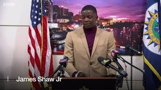 Hero James Shaw Jr. rushes Waffle House killer and wrests away his assault rifle saving many lives