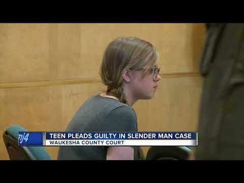 Slender Man suspect pleads guilty