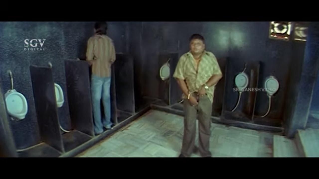 ನಿಜ ಹೇಳಿದ್ರೆ ಕಾಮಿಡಿ ಮಾಡ್ತಿದೀಯಾ ಅಂತ ಫೂಲ್ ಆದ ಬುಲೆಟ್ ಪ್ರಕಾಶ್   Geleya Kannada Movie Comedy Scene