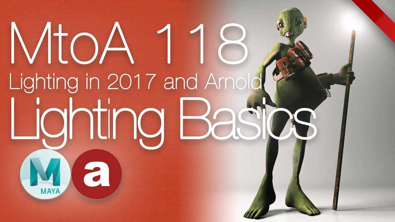 Basic Lighting Arnold in Maya 2017 - CGMeetup : Community