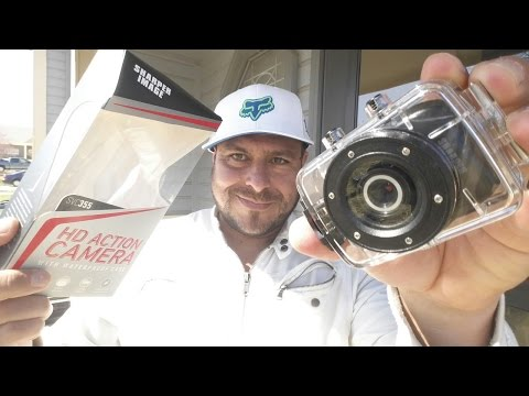 Sharper Image HD 720P Action Waterproof Camera - Full review