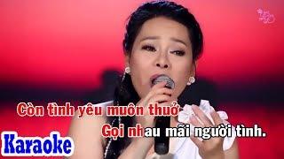Nếu Được Làm Người Tình (Karaoke Beat) - Tone Nữ | Đông Đào Karaoke