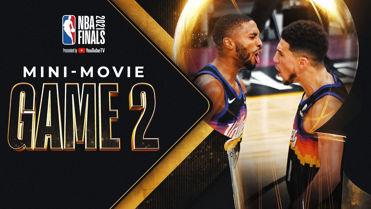 Suns Take Care of Home: NBA Finals Game 2 MINI-MOVIE! ☀️