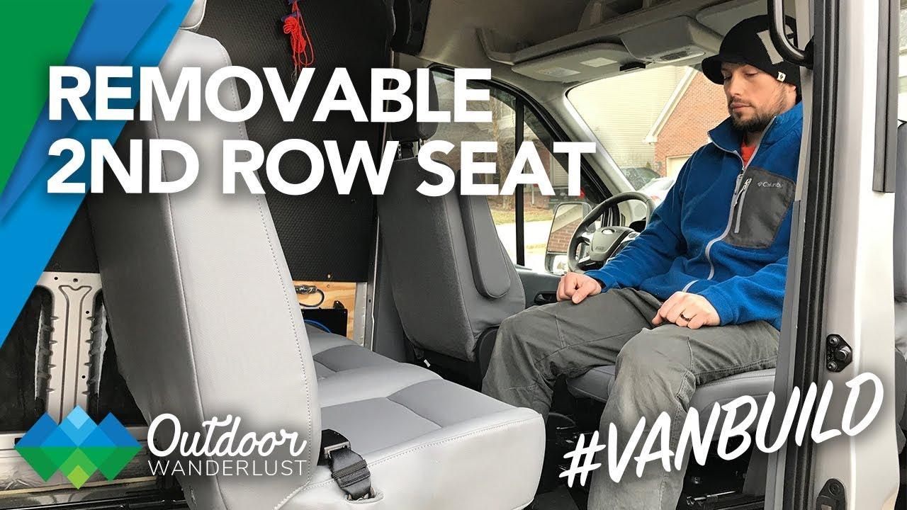 Van Conversion: Installing 2nd Row Bench Seat in Ford Transit