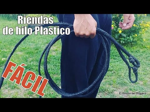 How To Make Plastic Thread Riding Reins