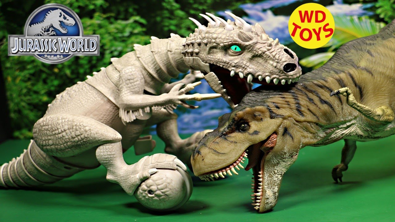 Jurassic World Indominus Rex Zoomer Dino Unboxing Review