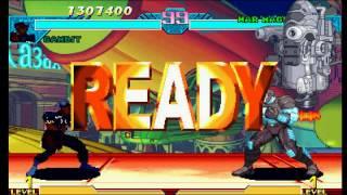 Marvel vs Capcom: Clash of Super Heroes (PSX) - Shadow Lady Longplay