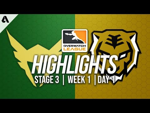 Los Angeles Valiant vs Seoul Dynasty | Overwatch League Highlights OWL Stage 3 Week 1 Day 1