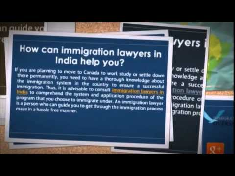 Get immigration lawyer in India