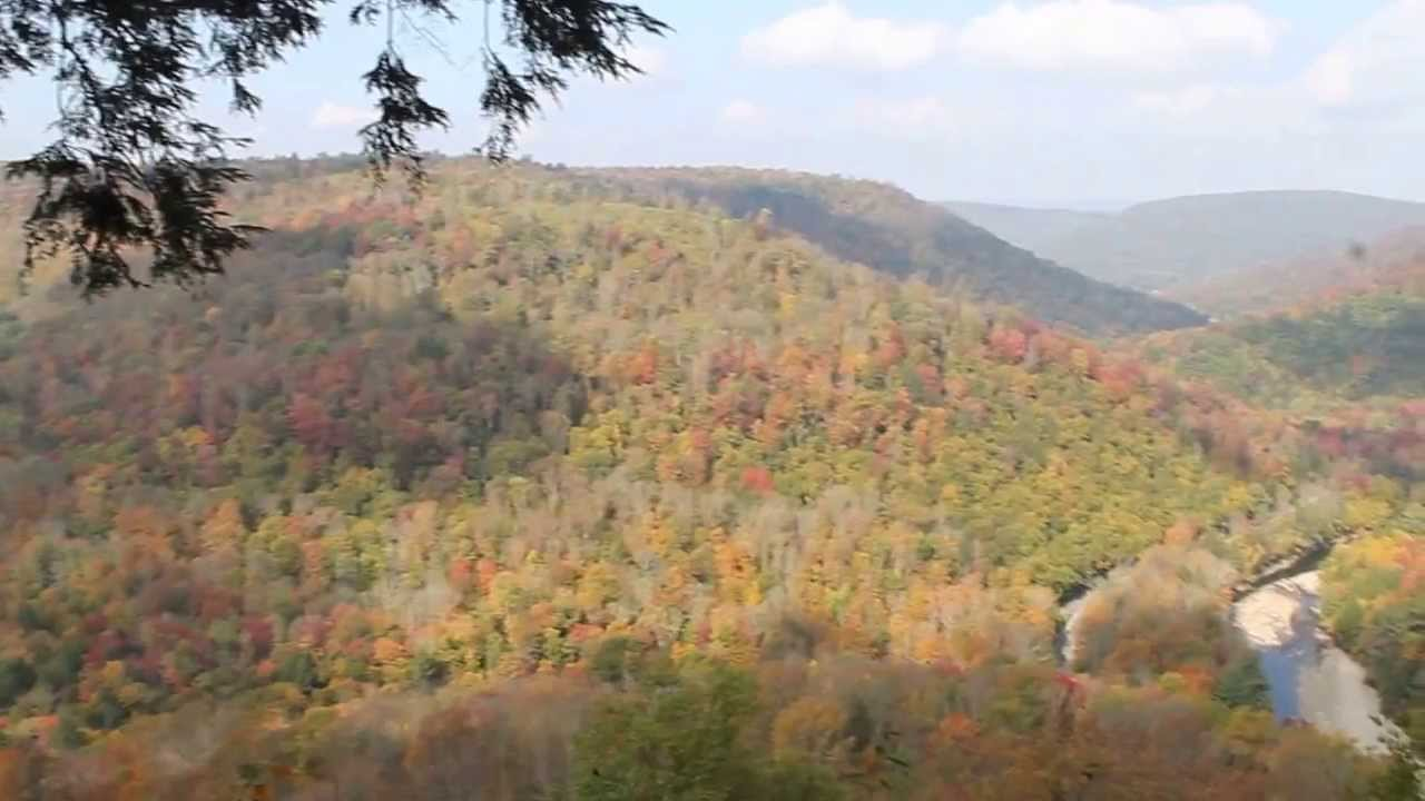 High Knob Overlook at World's End State Park