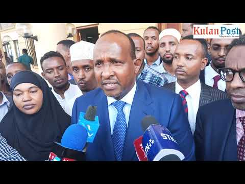 The moment Aden Duale's win was upheld at Milimani Court in Maalims's petition