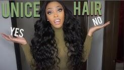 UNICE BODYWAVE HAIR EXTENSIONS REVIEW | Ashley Deshaun