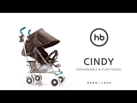 CINDY by HB | Happy Baby® - обзор всех функций прогулочной коляски