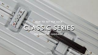 MOOF49 l How to l - วิธีตั้งรหัสกระเป๋าเดินทางรุ่น Classic
