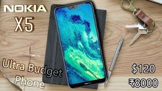 Nokia X5 - Notch on an Ultra Budget Phone!!!