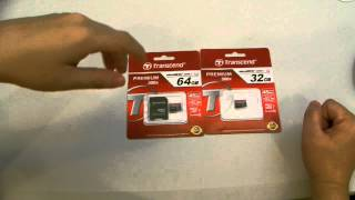 Product Review: Transcend Micro SD Cards