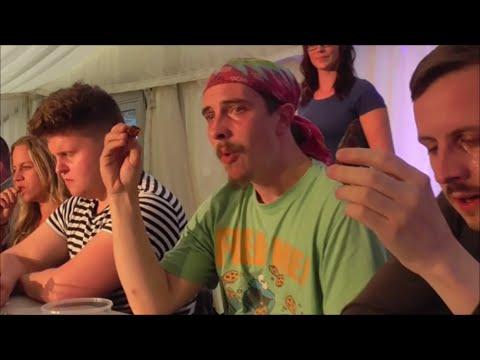 Chilli Eating Contest | Bath Chili Festival - YouTube