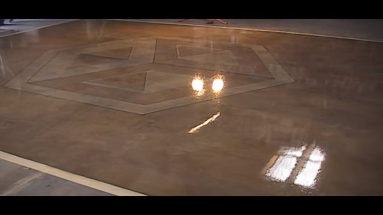 How To Stain Concrete Fast Easy Safe