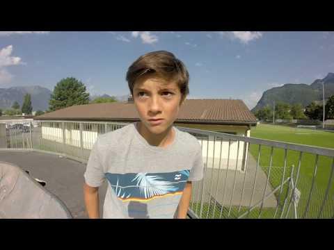 Vlog en Suisse skate Park de aigle