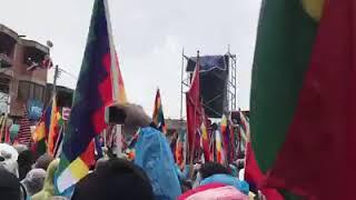 Video: El festejo en Bolivia de Evo
