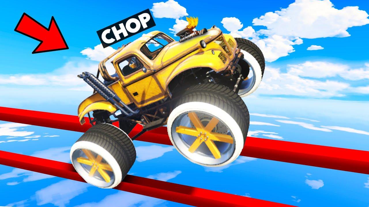 MOST IMPOSSIBLE TIGHTROPE WHEELIE CAR CHALLENGE GTA 5
